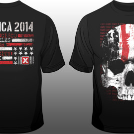 Suicide Commando – 2014 North America Tour Shirt
