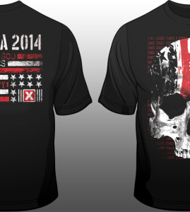 Suicide Commando – 2014 North America Tour Shirt