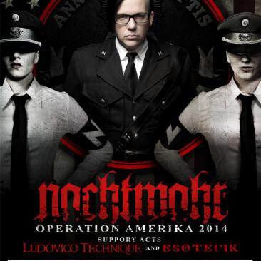 Nachtmahr – 2014 North American Tour Poster
