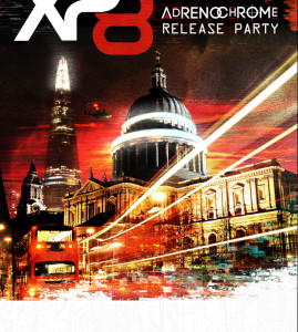 "XP8 ""Adrenochrome"" Promotional Poster"
