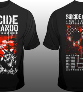 """Suicide Commando – """"2020 Tour Shirt"""""""