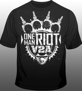 """V2A – """"One Man Riot"""""""